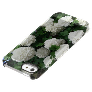 iphone case white snowball flower
