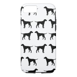 Iphone case with a dog pattern