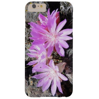 iPhone case with bitterroot flowers