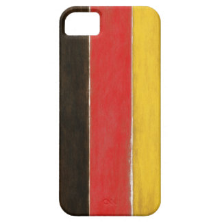 iPhone Case with Cool Distressed German Flag iPhone 5 Cases