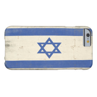 iPhone Case with Cool Distressed Israel Flag Barely There iPhone 6 Case