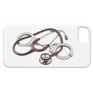 IPhone case with Correctional Nurse logo