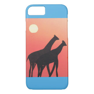 iphone case with giraffe design