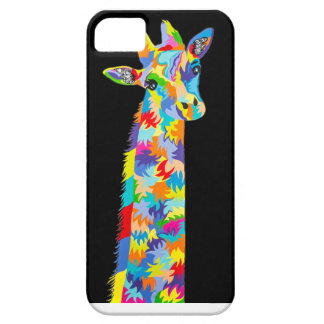 iphone case with giraffe design