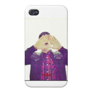 Iphone case with Illuminati Sign and 666. iPhone 4 Cover