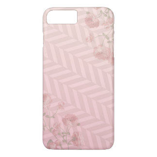 iphone case with pink floral design