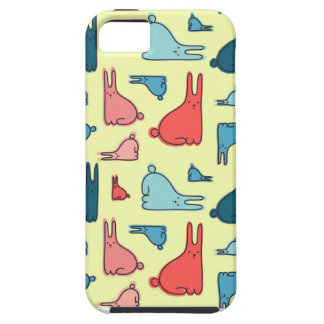 IPhone Case With Rabbits Pattern