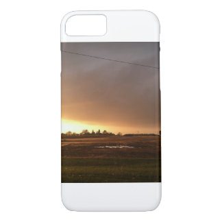 IPhone case with scenic sunset