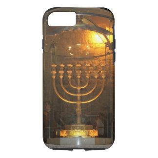iPhone case with the bible seven lamp (menorah).
