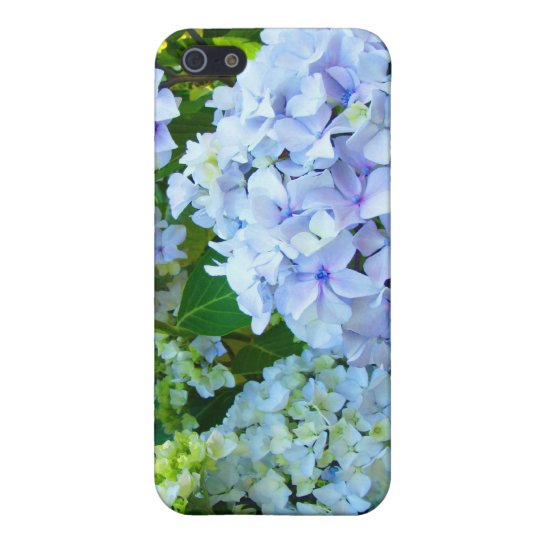 iPhone cases Blue Hydrangea Flowers Garden iPhone 5/5S Covers