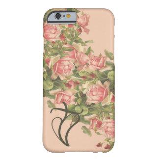 iPhone chrétien 6 de roses de Klein coque-Rose Coque iPhone 6 Barely There