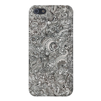 iPhone Cloth Insert Hard Case iPhone 5/5S Covers