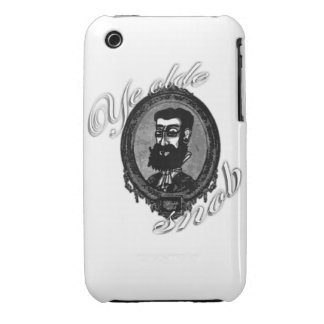 IPhone cover 3G/Gs - Ye Olde Snob iPhone 3 Covers