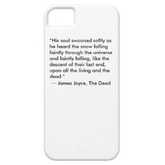 iPhone Cover - Stylish, James Joyce Quote