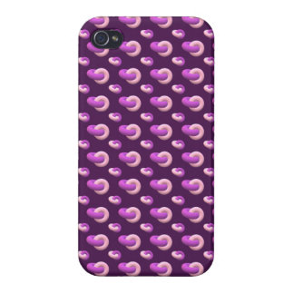iPhone covering Donuts eggplant iPhone 4/4S Covers