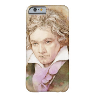 Iphone covering with portrait by Ludwig van Barely There iPhone 6 Case