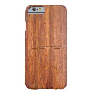 iPhone customisé par bois 6 couvertures de cas Coque Barely There iPhone 6