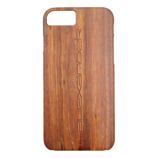 iPhone customisé par bois 7 couvertures de cas Coque iPhone 7
