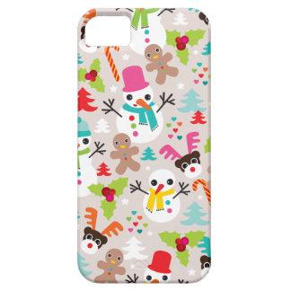 Iphone d'illustration de Noël du pays des merveill Coque Case-Mate iPhone 5