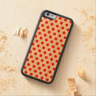 iPhone en bois de cas 6 à petits pois Coque iPhone 6 Bumper En Cerisier
