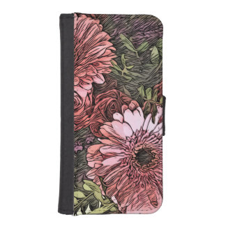 iPhone floral wallet