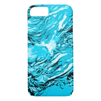 iPhone Frozen Ice Abstract Case
