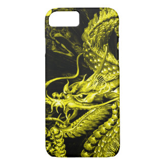 iPhone Gold Chinese Emperor Dragon Art Case