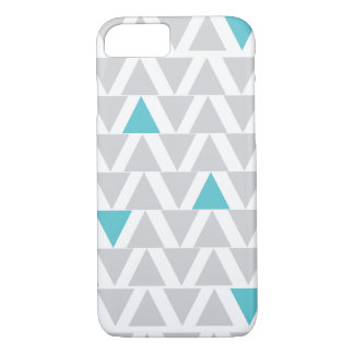 Iphone Graphic Aqua & Gray Case-Mate iPhone Case