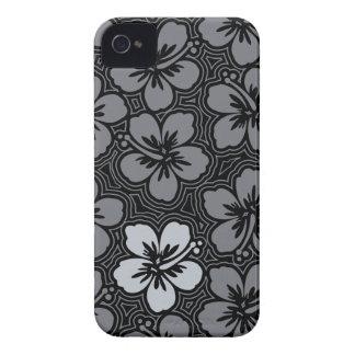 iPhone hawaïen floral d'île 4 cas Coque iPhone 4 Case-Mate