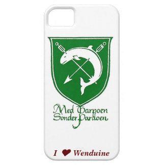 iPhone hoesje I ♥ Wenduine (plastic) iPhone 5 Covers