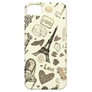 IPhone IF amarelinha in Paris iPhone 5 Cover