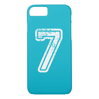 iPhone Jersey number seven with color case