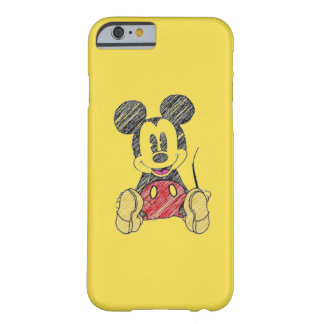 IPhone layer 6/6s Mickey Barely There iPhone 6 Case