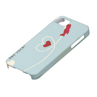Iphone layer IF, 5 and 5S Amo You iPhone 5 Case