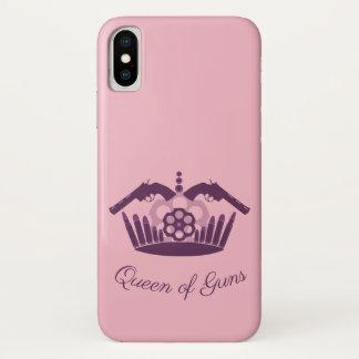 Iphone marries Queen of Guns iPhone X Case