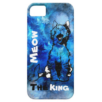 iPhone Meow The King Cat Design Case For The iPhone 5