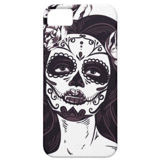 iPhone Modern Horror Face Design iPhone 5 Cases