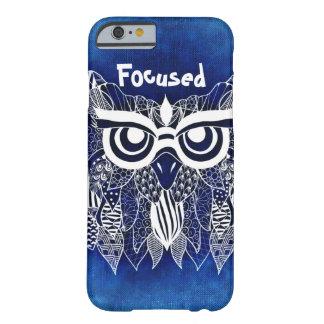 iPhone Owl Case Modern Design, Focused