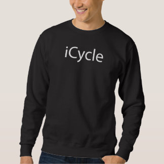 Iphone Parody Cool Funny Cycling Icycle Sweatshirt