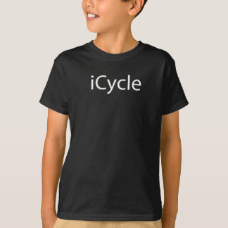 Iphone Parody Cool Funny Cycling Icycle T-Shirt