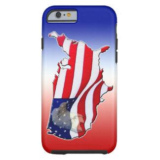 iPhone patriotique 6 Ca de cas de l'iPhone 6 d'Eag