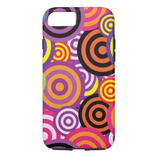 iPhone Retro Circles Case-Mate iPhone Case
