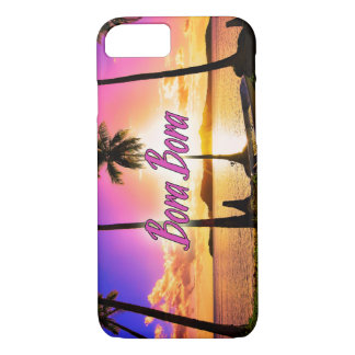 iPhone/Samsung Case: Sunset Bora Bora iPhone 7 Case