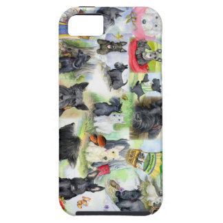 IPhone Scotties in the wood iPhone 5 Case