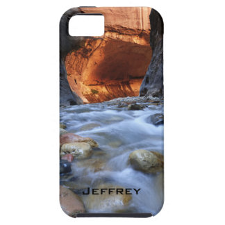 iPhone SE/5/5s Case, Personalized, Zion Narrows Case For The iPhone 5