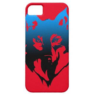iphone SE case with wolf on it