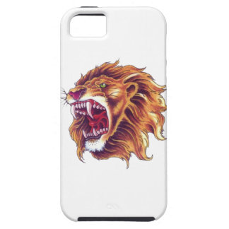 iPhone SE + iPhone 5/5S, Tough Phone Case Lion