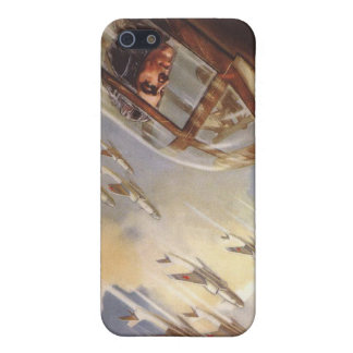 iPhone Skin with Vintage USSR Air Force Propaganda iPhone 5 Cases