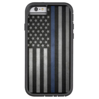 iPhone Thin Blue Line Cell Phone Case