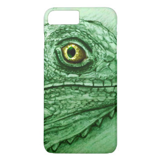 iPhone vintage case - Iguana